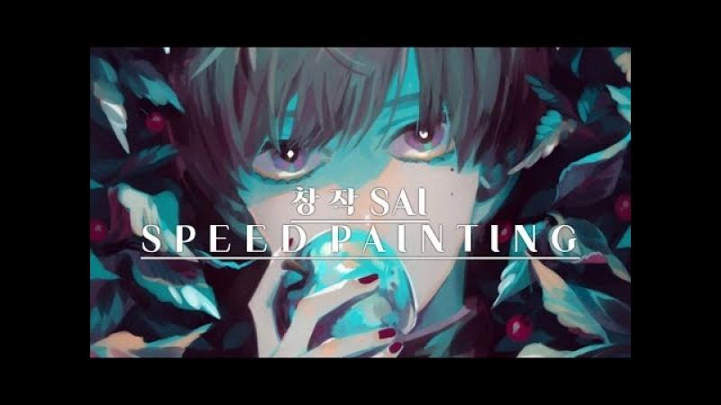 [speed painting SAI]창작 스피드 페인팅