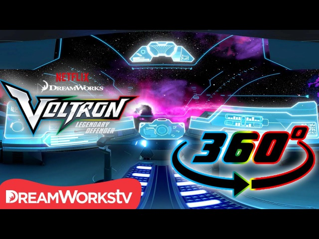 Explore Voltron's Blue Lion Cockpit! [360 VIDEO] | DREAMWORKS VOLTRON LEGENDARY DEFENDER