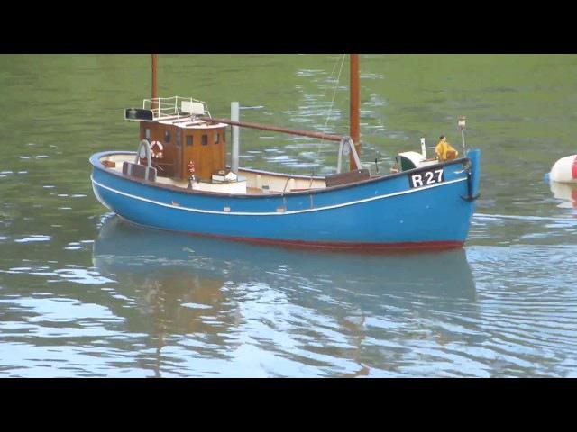 R27 Hanne - scale model RC fishing boat - VMK - DM 2017