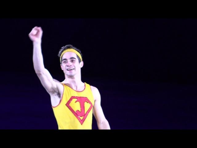 2018 Olympics Javier Fernandez EX Aerobics Class (Fancam)