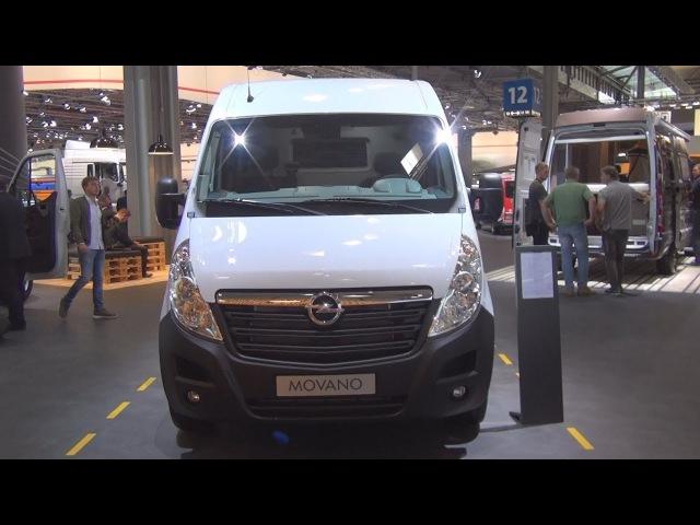 Opel Movano 2.3 Bi-Turbo L3H2 3.5t Panel Van (2017) Exterior and Interior
