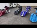 "FOUR 30"" Turbo Harley Big Wheel Baggers by F Bomb Baggers Custom Baggers"
