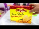 How to make marshmallow tacos