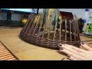 Мастер класс плетеного подноса с фанерным дном
