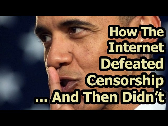 How The Internet Defeated Censorship... And Then Didn't