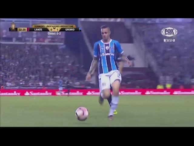 Melhores lances de Arthur Grêmio Lanús 1 2 Grêmio Copa Libertadores 2017 Finais jogo 2