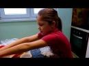 Lera Holodok 8 лет сама делает крутые суши ( роллы)