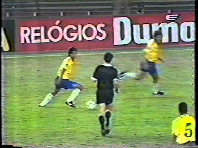 Brasil 4x0 Venezuela Eliminatórias 1993 Globo