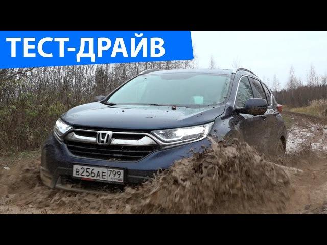 HONDA CR-V 2018 - Убийца RAV4