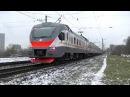 Электропоезд ЭП2Д-0024- ,,Кремлёвские курсанты.