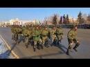 Солдаты из Анголы порадовали зрителей на параде в Омске