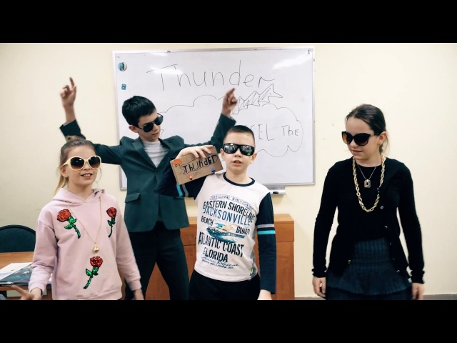 Imagine Dragons - Thunder - classroom cover by Russian children