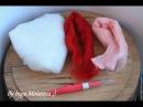 шерстяное сердце войлочная валентинка