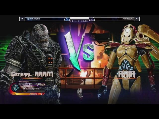 Killer Instinct Christmas Edition - Topomaligno (General RAAM) vs NR Katoxx (Aria)