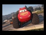 Мультики про Машинки Тачки Молния Маквин супер Монстры Трак#Мульт game Disney