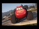 Мультики про Машинки Тачки Молния Маквин супер Монстры ТракМульт game Disney