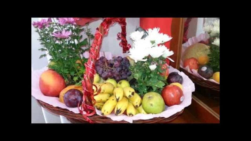 Noticias de youtube. Como hacer canastas de frutas para regalo