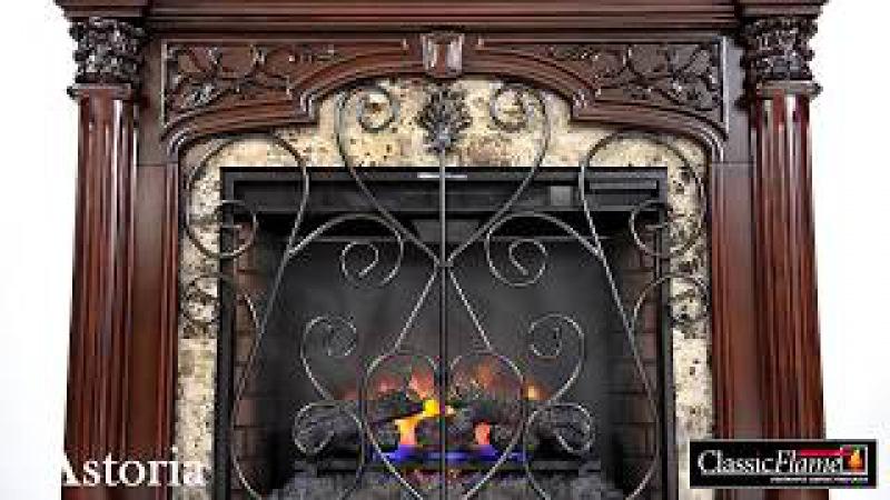 Kominek elektryczny LED Classic Flame Astoria