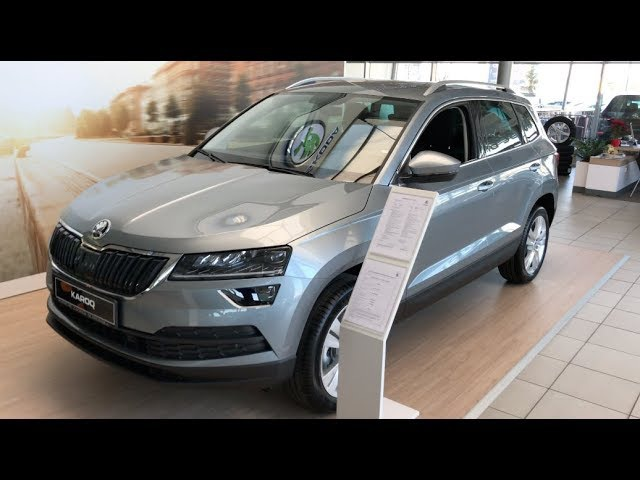 Škoda Karoq SUV 2018 walk around and comparison with Kodiaq in 4K