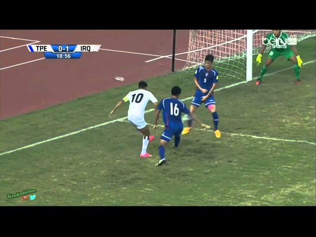 ★ CHINA TAIPEI 0 - 2 IRAQ ★ RUSIA2018 FIFA ELIMINATORIAS - Clasificacion al Mundial