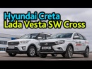 Cross или Кроссовер Lada Vesta SW Cross против Hyundai Creta