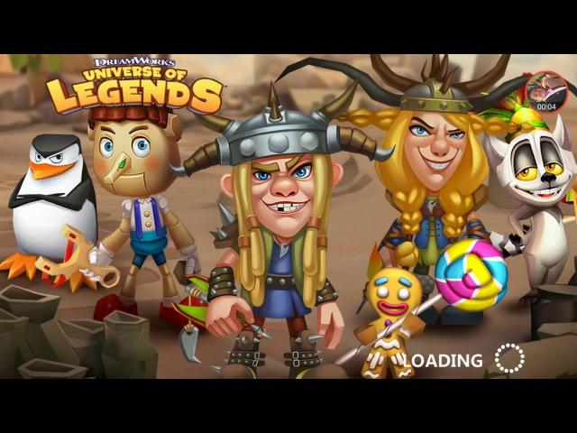 Dreamworks Universe of Legends World Boss