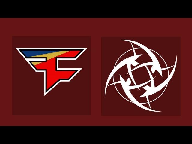 FaZe vs NiP - BLAST Pro Series Copenhagen 2017 - FaZe Clan vs Ninjas in Pyjamas