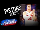 Blake Griffin Pistons DEBUT 2018.02.01 vs Grizzlies - 24 Pts, 10 Rebs, 5 Asts, 2 Blks! FreeDawkins