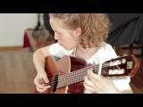 Ferdinando Carulli: Rondo n. 34, op. 241 (Timeja, 13, classical guitar)