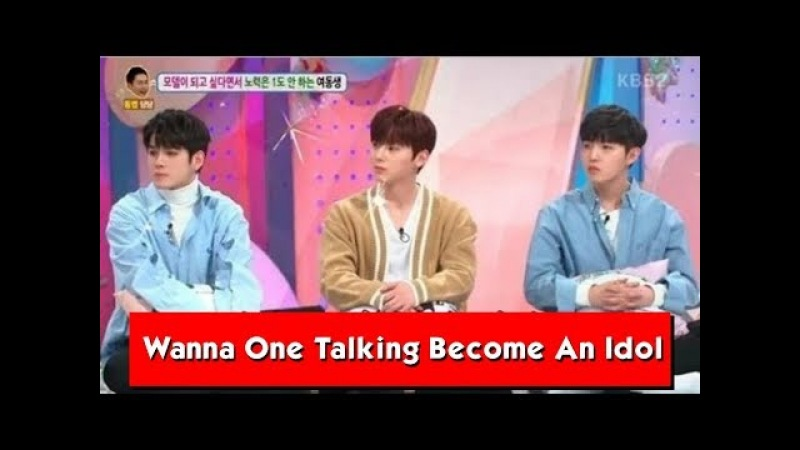 Wanna One Members Talking How They Should Work Hard To Become An Idol