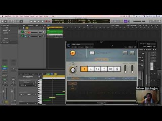 Logic ProX Tutorial - (TRAP) Creating Simples Melodies n 808s n Auto Tune Vocals