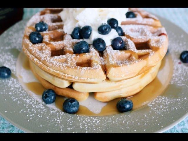 와플 만들기 : How to make a waffle [달꽃]