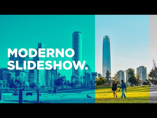 Moderno Slideshow [Presentación] - Tutorial After Effects [Español]