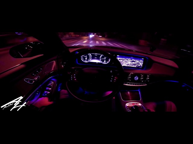 AEROHENGE - MERCEDES W222 / POV NIGHT DRIVE