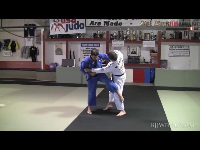 Дзюдо для БЖЖ | Джимми Педро - Осото Гари в джиу-джитсу
