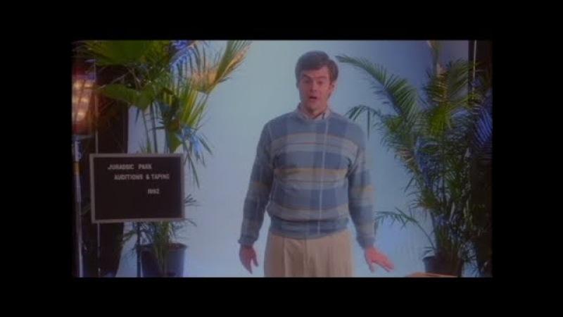 Bill Hader Revives Beloved Impressions in Fake Jurassic Park Screen Test