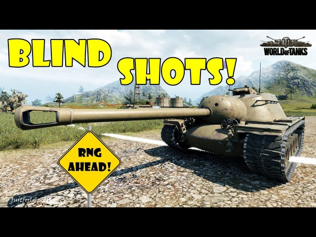 World of Tanks Funny Moments BLIND SHOTS 15