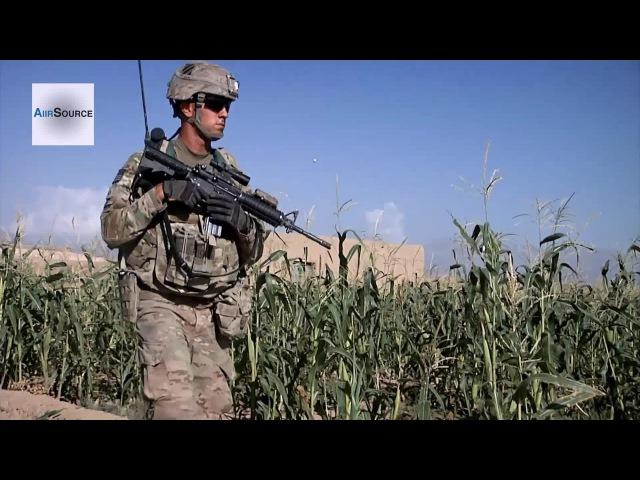 U.S. Army Cavalry Scouts Conducting Patrols at Forward Operating Base Shank