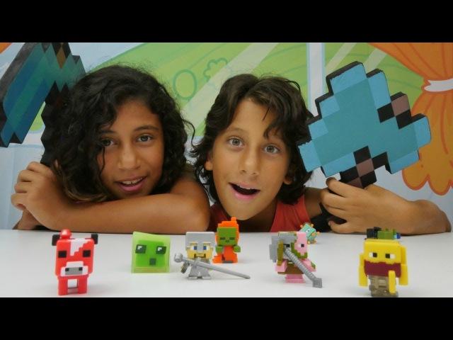 Minecraft Oyunları Orbeez suda şişen boncuklar denemesi