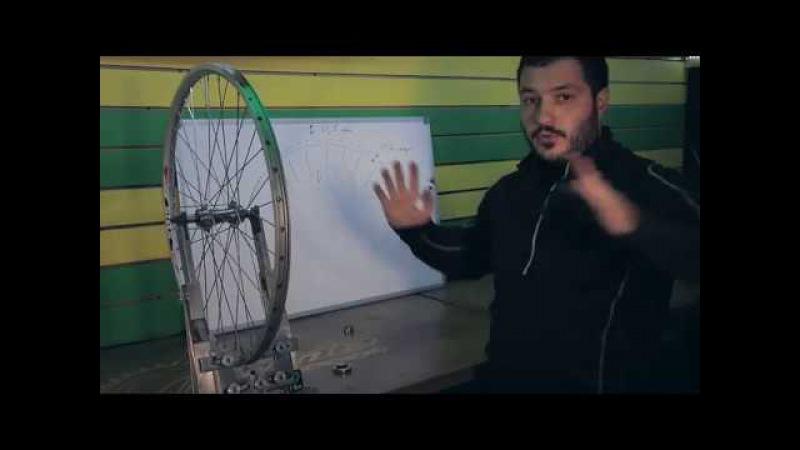 Как исправить восьмерку и яйцо на колесе велосипеда - инструкция от Veloline