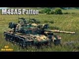 M48A5 Patton : Очень Красиво , хоть и в топе !!! * 10000 урона + Рэдли