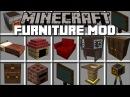 Minecraft FURNITURE MOD REBUILDING HOUSES IN MINECRAFT Minecraft