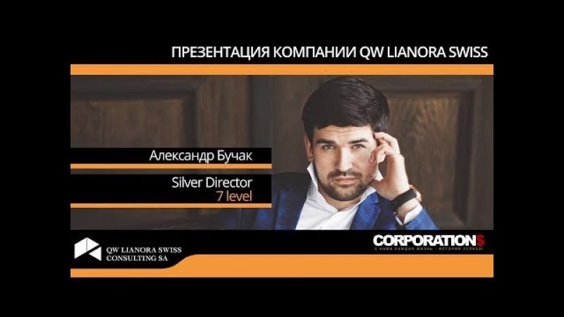 Александр Бучак - Презентация компании QW Lianora Swiss - 19.09.2017