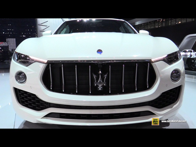 Maserati Levante - Exterior and Interior Walkaround