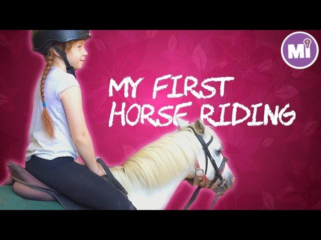 My First Horse Riding: Yellingbo ✿ Катаюсь на лошади в первый раз