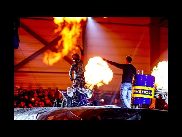 Night of Freestyle mit einem gigantischen Pyro- und Laser-Spektakel