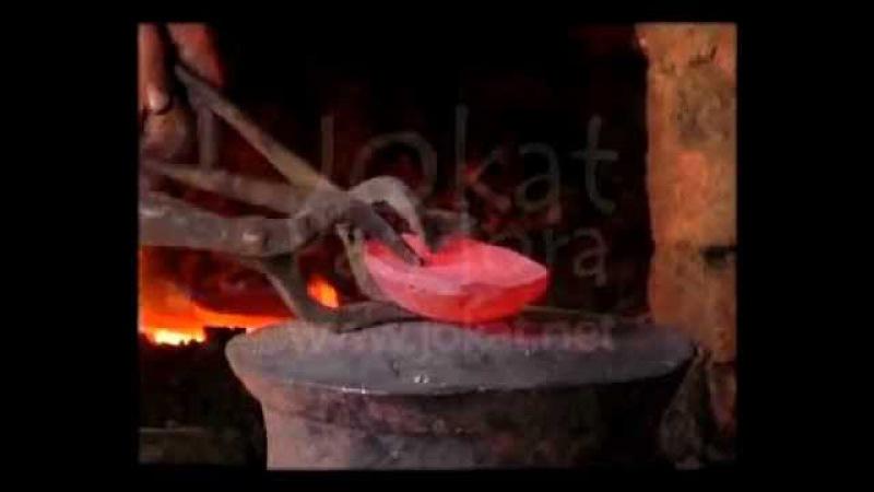 Bols chantants tibétains fabrication