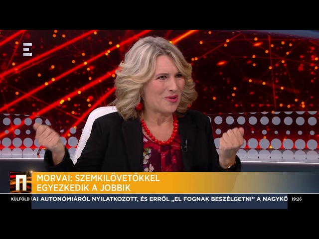 Szemkilövetőkkel egyezkedik a Jobbik - Morvai Krisztina - ECHO TV