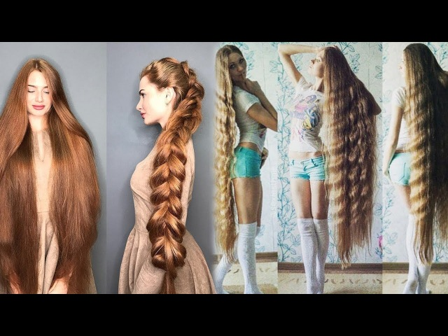 People With Ridiculously Long Hair, The Most Beautiful Extremely Long Hair Girls, 2018