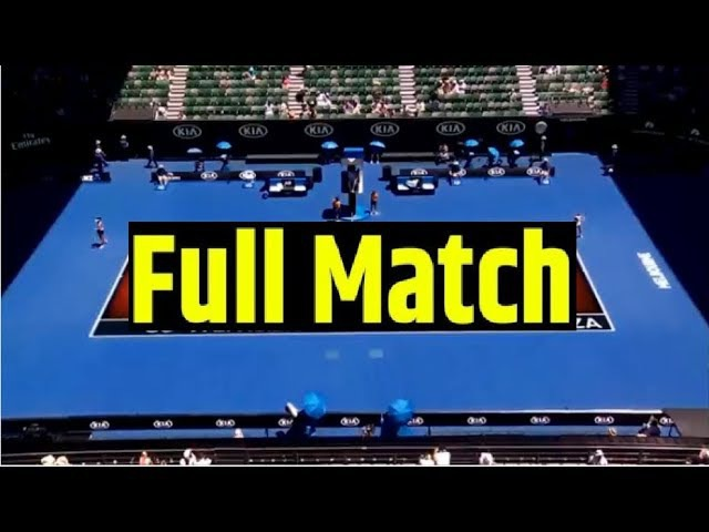 Angelique Kerber vs Donna Vekic Full Match HD - 2018 Australian Open | Round 3 - Tennis Tv.